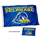 College Flags & Banners Co. Delaware Blue Hens Double and Two Sided Flag