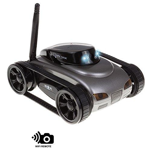 Silica-DMN358 Coche Teledirigido con WiFi Y Cámara, Color Negro (DMN358