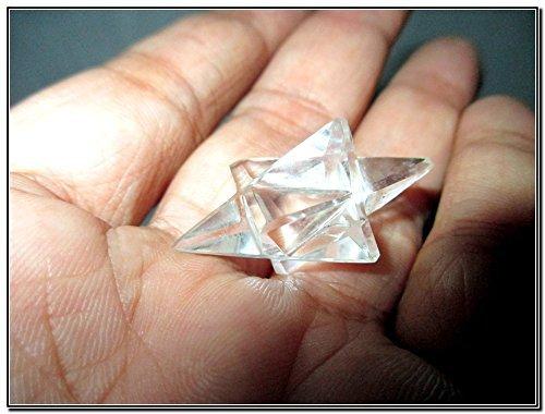 Jet Genuine Crystal Quartz Lingam Cut Star A++ Chakra Platonic Pranic Brazilian Power Protection Vastu Healing Feng Shui Energy Gift Success Progress Health Wealth Prosperity