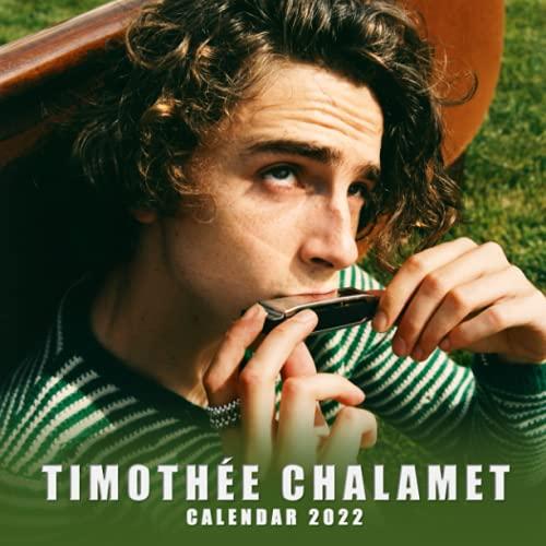 Timothée Chalamet Calendar 2022: November 2021 - December 2022 American Actor OFFICIAL Mini Calendar   Classroom, Home, Office Supplies