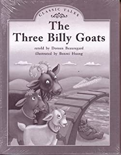 The Three Billy Goats; Classic Tales: Leveled Literacy Intervention My Take-home 6 Pak Books (Book 107, Level J, Fiction) Green System, Grade 1