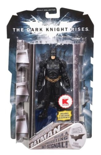 Batman Dark Knight Rises Movie Masters Exclusive Deluxe Action Figure Batman