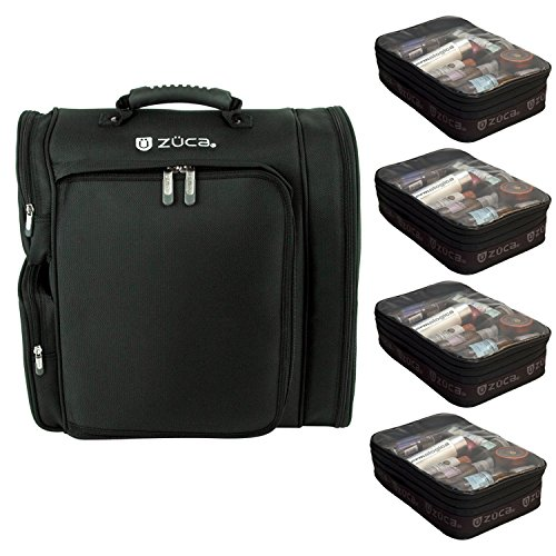 ZUCA Artist Backpack with Four Vinyl-Lined Utility Pouches