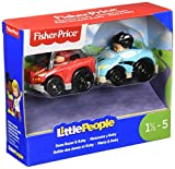 Fisher-Price Little People Dune Racer & Kitty Car
