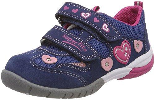 Superfit Mädchen SPORT3 Sneaker, Blau (Water Multi), 25 EU