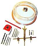 KIVEC XWY-06K010 - Kit cortacirculos para taladro