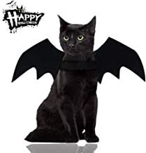 Malier Halloween Cat Costume for Cats Dogs Pet Bat Wings Cat Dog Bat Costume Wings
