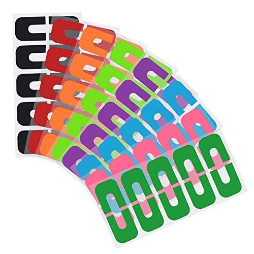 80 Stück Nagellack Protector U-Form Abziehen Tape, Einweg Nagellack Schablone, Nägel Rand Hautschutz Hilfe zum Nägel Lackieren, Maincure Werkzeug für Nagel Kunst