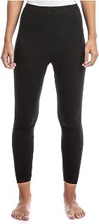 Slugger Beige Cotton Leggings With Lace Trim For Women