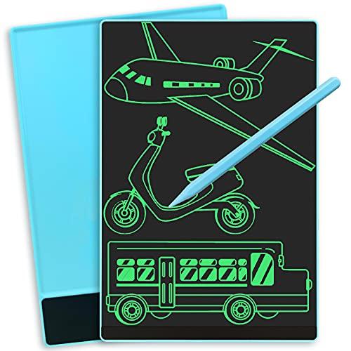 Tableta de Escritura LCD 9.5 Pulgadas de Pantalla Completa, Tablero de Dibujo Electrónico Ligero y Portátil, Pizarra Digital Infantíl, Regalo y Juguete para Niños, Uso Hogar, Escolar, Laboral