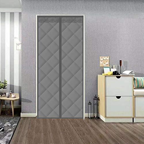 FSFF Puerta de Malla magnética, Cortina de algodón Impermeable, insonorizada para el hogar, Puerta Plegable Que se Cierra automáticamente, para Puertas traseras, Puertas Delanteras, Puertas de