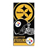 NFL Pittsburgh Steelers 'Double Covered' Beach Towel, 30' x 60'