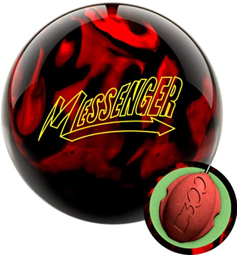 Columbia 300 Messenger Red/Black Bowling Ball (15)