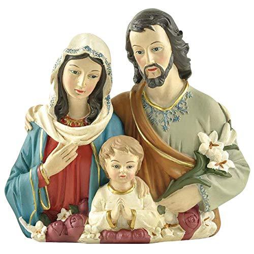 Krippenset - Jesus Familie - Weihnachtskrippe Figuren Harz Weihnachtskrippe Mit Figuren, Krippe Set Weihnachten Figuren Für Holiday Decor