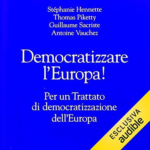 Democratizzare l'Europa! copertina