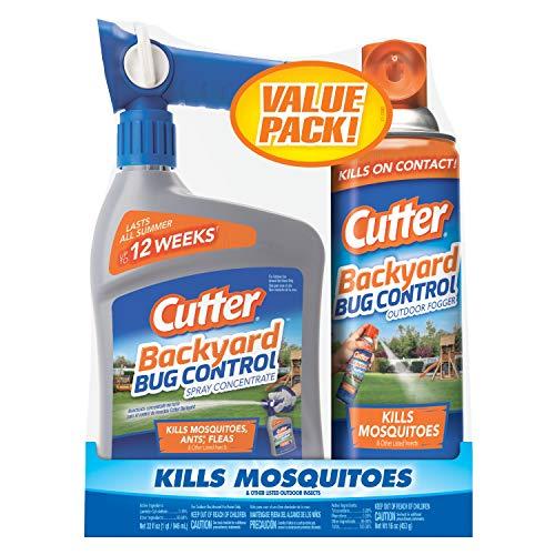 Cutter HG-65744 Backyard Bug Control Combo Pack
