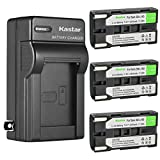 Kastar 3-Pack SB-L160 Battery and AC Wall Charger Replacement for Samsung SB-L110A SBL110A, SB-L160 SBL160, SB-L320 SBL320, SB-L480 SBL480 Battery, Medion MD9014 VP-SCD55 VPL600 VPL700 VPL800 VPL900