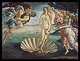 1art1 Sandro Botticelli Poster Kunstdruck und MDF-Rahmen