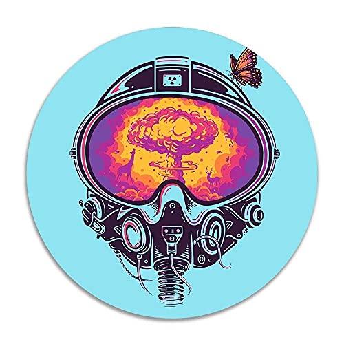 Artistic Space Antivirus Mask Design Anti-Rutsch-Korallensamt Runde Teppiche Memory Foam Bodenteppiche Matten Durchmesser Schlafzimmer Teppich Yoga Stuhl Matte Fußmatte