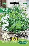 Germisem Herbs Mix Trio Aromatiques Herbes Graines sur Ruban de 6 m...