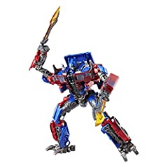 Studio Series 05 Voyager Class Movie 2 Optimus Prime figure Premium figure and packaging inspired by the iconic Forest Fight scene The figure scale reflects the character's size in the world of Transformers Movie 2 Converts between robot and truck mo...