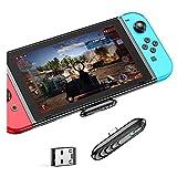 Adaptador Bluetooth para Nintendo Switch/Lite,transmisor de audio inalámbrico BT 5.0, convertidor USB C a A para auriculares Bluetooth, altavoces, PS4, PS5, PC, computadora portátil, TV