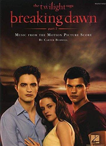 Burwell Carter Twilight Breaking Dawn Part 1 Piano Solo Piano BK (Piano Solo Songbook)