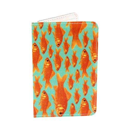 Goldfisch-Geschenkkartenhalter und Geldbörse