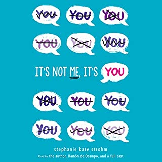 It's Not Me, It's You! audiobook cover art