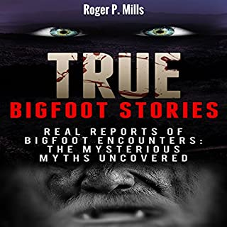 True Bigfoot Stories cover art