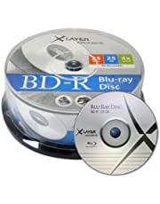 XLayer BD-R 25GB 25GB BD-R 25pieza(s) - BD-RE vírgenes (BD-R, 120 mm, 25 GB, 4X, Caja para Pastel, 25 Pieza(s))