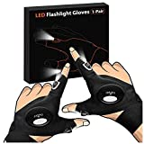 Gifts for Men Father Day, LED Flashlight Gloves Dad Men Gifts, Light...
