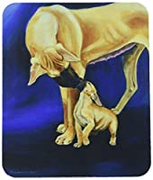 Caroline's Treasures Mouse/Hot Pad/Trivet Natural Fawn Great Dane with Puppy (7208MP) [並行輸入品]