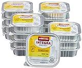 animonda Integra Protect Katze Sensitive, Diät Katzenfutter, Nassfutter bei Futtermittelallergie, Huhn pur, 16 x 100 g
