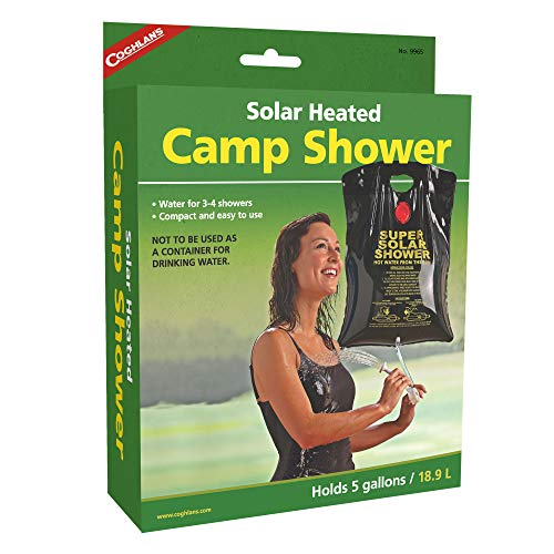 Best solar shower bag