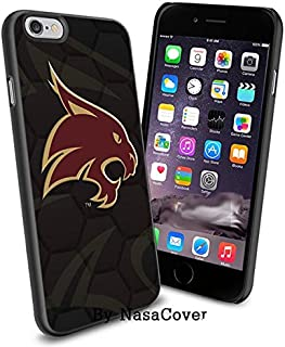 (Available for iPhone 4,4s,5,5s,6,6Plus) NCAA University sport Texas State Bobcats , Cool iPhone 4 5 or 6 Smartphone Case ...