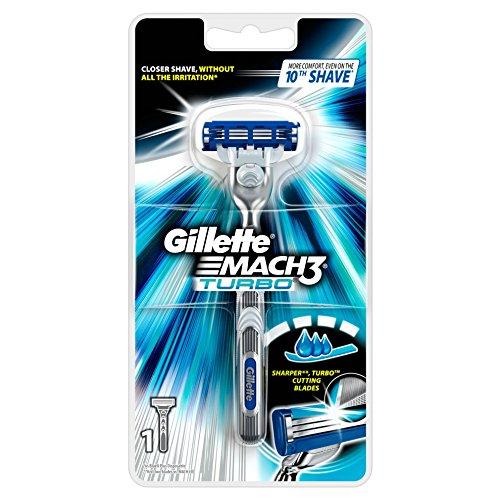 Auslaufmodell Gillette MACH3 Turbo Rasierer