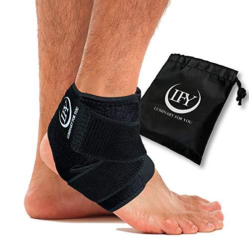 LFY Luminary for you Fußbandage - Die Einzigartige Sprunggelenkbandage bei Verletzungen / Bis zu der Größe 43 - 44 geeignet