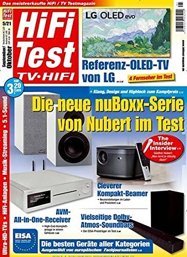 """Hifi Test 5/2021 \""""Die neue nuBoxx-Serie von Nubert im Test\"""""""