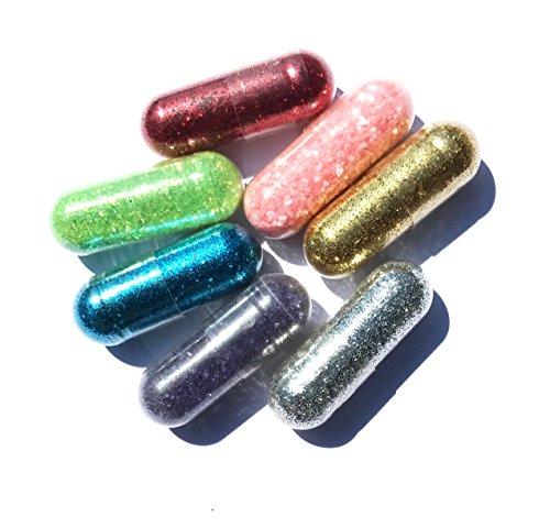Einhorn Kacke | 7 Farben | | Unicorn Poop | Einhorn Pups | Glitter Einhorn Glitzer Ausscheidungen | Farben rosa, gold, grün, rot, blau, lila, silber