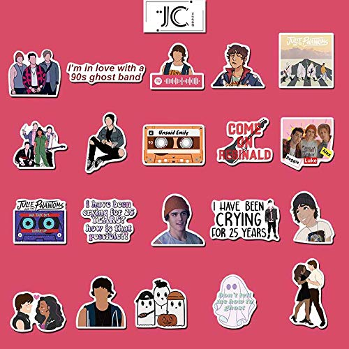 YUHANG Music Julie and the Phantom Boy Luggage Personalized Laptop Waterproof Sticker 50pcs