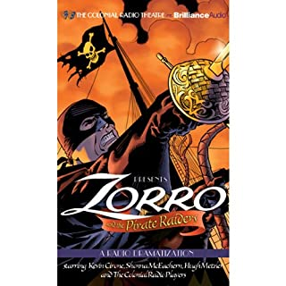 Zorro and the Pirate Raiders cover art