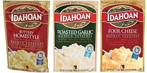 Idahoan Mashed Potatoes Variety Bundle