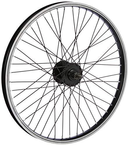 BIKE ORIGINAL BMX - Rueda Delantera para Bicicleta (20'), Color Negro