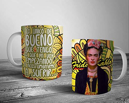 Frida Kahlo Taza,Unidad regalo desayuno amigo invisible,cumpleaños