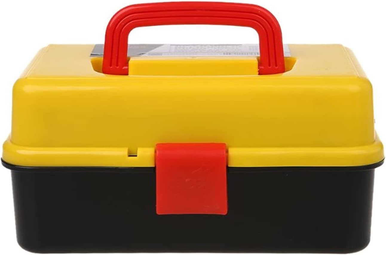 CAIBING Toolbox 3 Layer Folding Tool Portable Box Storage Hardwa Japan Maker Super sale period limited New