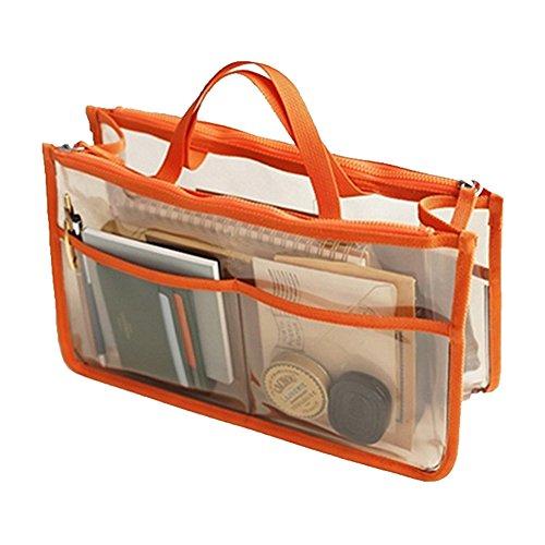 THEE Bolsa Transparente Impermeable Coméstico Organizador