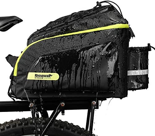 Rhinowalk Bike Bag Bike Trunk Bag Bike Pannier Bag 17L for Bicycle Cargo Rack Saddle Bag Shoulder product image
