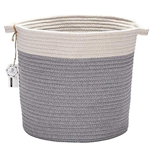 Sea Team Cotton Rope Storage Baskets (kurz B)