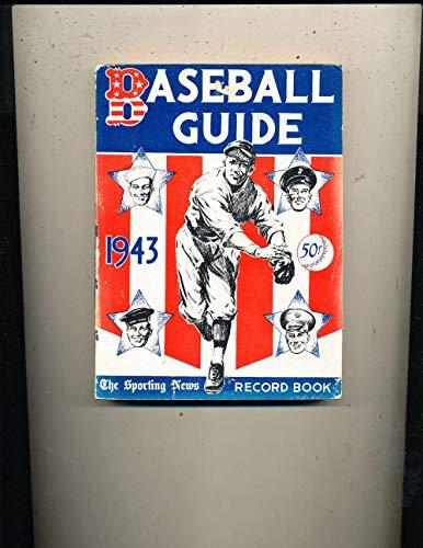 1943 Sporting News Baseball Guide former bound edition bxbg